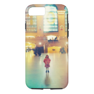 Young Girl in Grand Central Station iPhone 7 Case