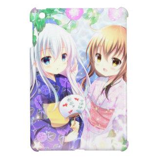 Young Girls In Yukata iPad Mini Cover