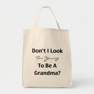 Young Grandma (customizable) Bags