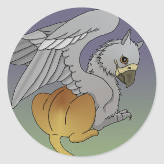 Young Gryphon Sticker