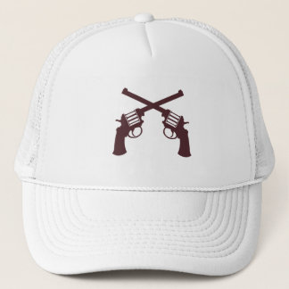 YOUNG GUN: WHITE TRUCKER HAT