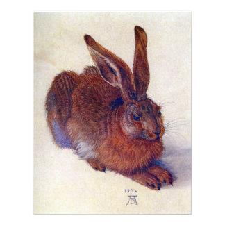 Young Hare by Albrecht Durer, Renaissance Art Invite