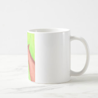 Young horse, colt,  in watercolor Mug