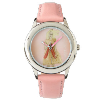 Young infantile clock watches