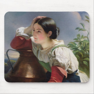 Young Italian at the Well, c.1833-34 Mouse Pad