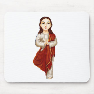 Young Jesus Christ Practicing Yoga Mouse Pad