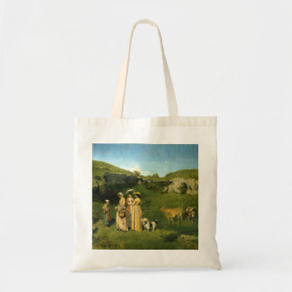 Young Ladies of the Village Canvas Bags