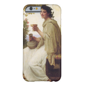Young lady drinking wine barely there iPhone 6 case