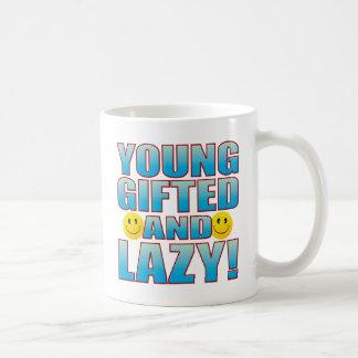 Young Lazy Life B Coffee Mug
