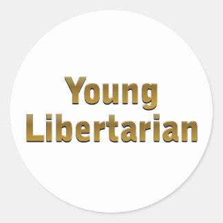 Young Libertarian Sticker