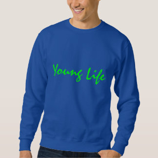 Young life sweatshirt with lettering