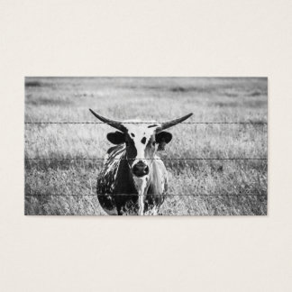 Young Longhorn Business Card