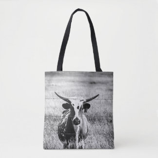Young Longhorn Tote Bag