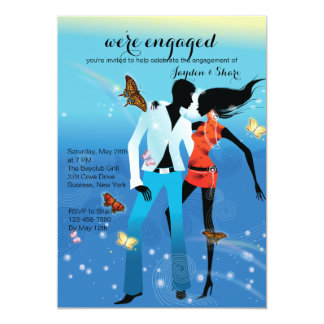 Young Love Engagement Party Invitation