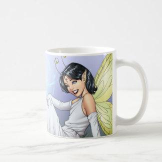 Young Magical Elf Fairy by Al Rio Coffee Mug
