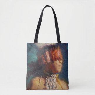 Young Maidu Dancer Tote Bag