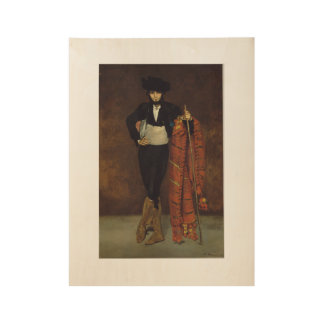 Young Man in the Costume of a Majo , Édouard Manet Wood Poster