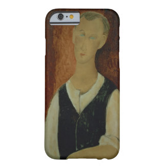 Young Man with a Black Waistcoat, 1912 (oil on can Barely There iPhone 6 Case