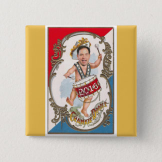 Young Marco Rubio 2016 15 Cm Square Badge