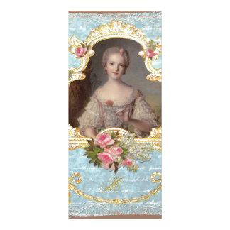 Young Marie Antoinette n Roses Rack Card