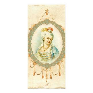Young Marie Antoinette Portrait Custom Rack Cards
