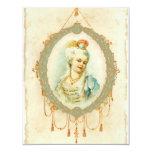 Young Marie Antoinette Portrait Invitations 11 Cm X 14 Cm Invitation Card