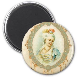 Young Marie Antoinette Portrait Magnet