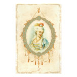 Young Marie Antoinette Portrait Customized Stationery