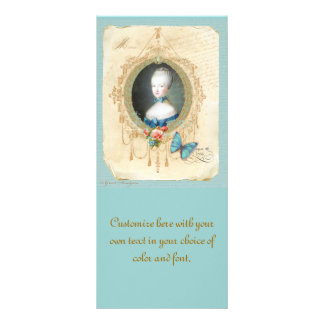 Young Marie Antoinette Save the Date Card Rack Card