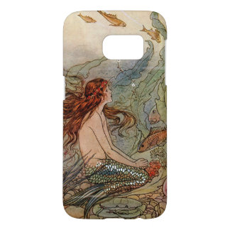 Young Mermaid Galaxy S7 Barely There Case