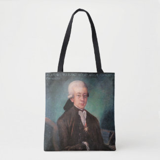 Young Mozart Portrait 1777 Tote Bag