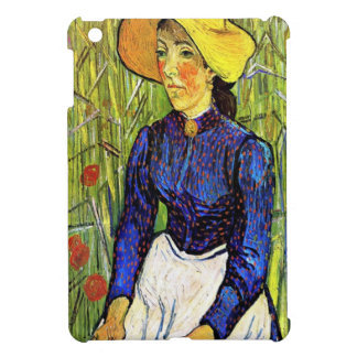 Young Peasant Girl by Vincent van Gogh 1890 iPad Mini Cases