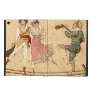 Young People Dancing and Singing, vintage drawing iPad Air Case