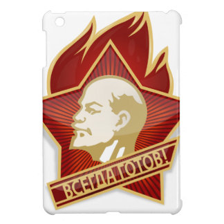 Young Pioneers Lenin Ленин Communist Soviet Union Cover For The iPad Mini