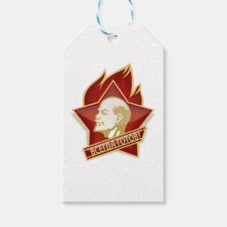 Young Pioneers Lenin Ленин Communist Soviet Union Gift Tags