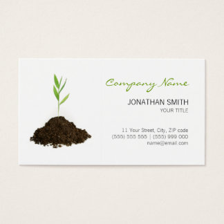 Young Plant business card