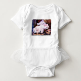 YOUNG POLAR BEARS BABY BODYSUIT