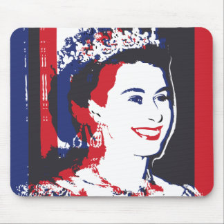 Young Queen Elizabeth II ı Mousepad