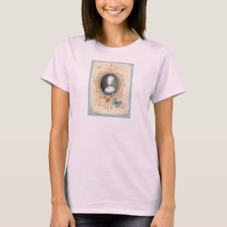 Young Queen Marie Antoinette T Tee Shirt Womens
