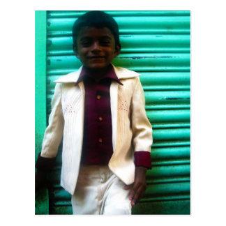Young Rajeesh Postcard