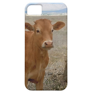 Young Red Heifer Cow iPhone 5 Cover