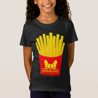 Young rower Frenchie Fries T-Shirt