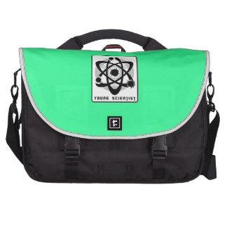 Young scientist laptop bag