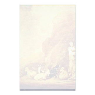 Young Shepherd And Shepherdess By Potter Pieter Sy Personalized Stationery