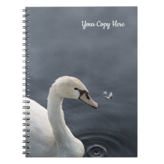 Young Swan & Feather Notebook