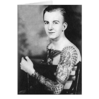 Young Tattooed Sailor Card