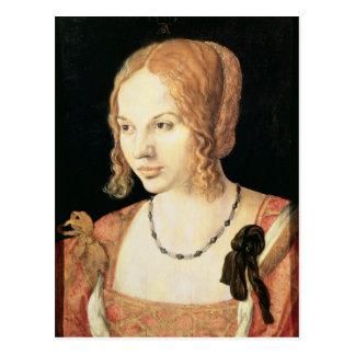 Young Venetian Woman Postcard