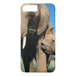 Young White Rhinoceros iPhone 7 Plus Case