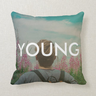Young (Wild and Free) Cushion