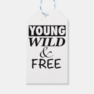 YOUNG WILD AND FREE GIFT TAGS